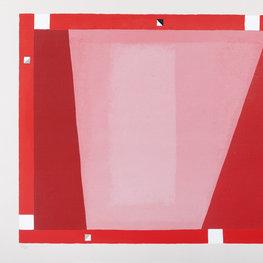 Abstrakcja czerwona, 1995 r.
