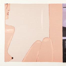 Akt na różowym tle, 1998 r.