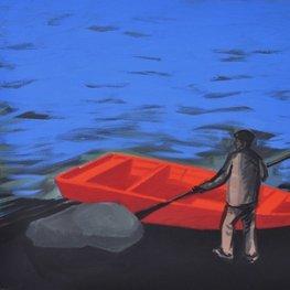 Czerwona łódka