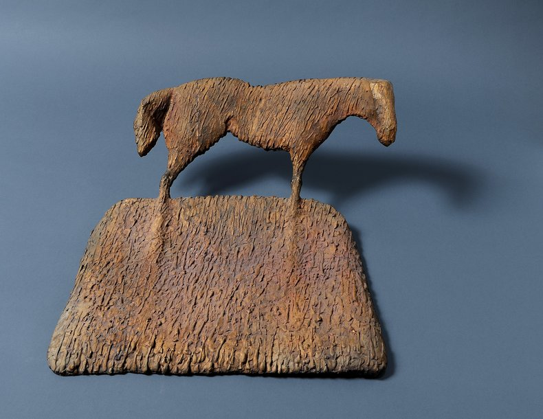 Koń I z cyklu Cienie