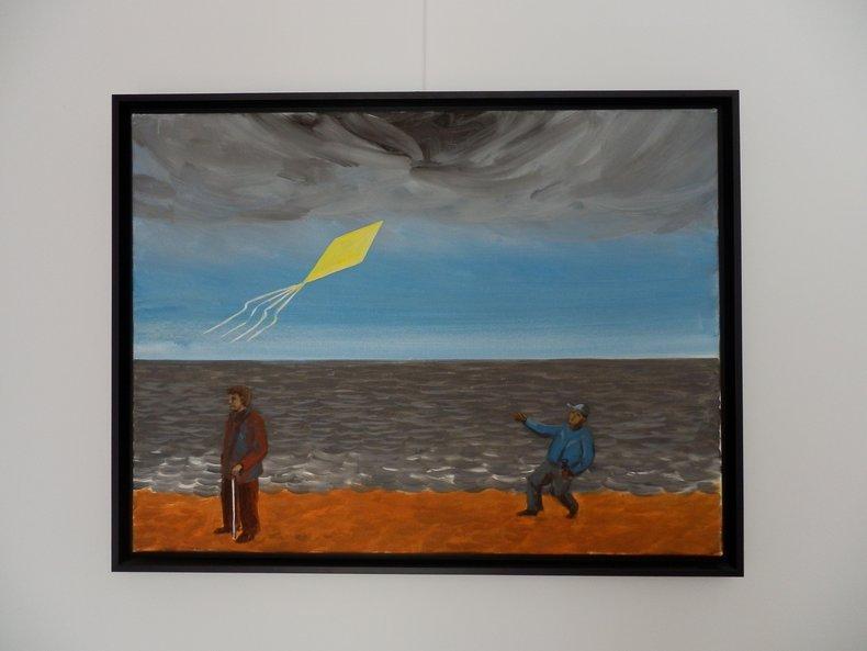 Żółty latawiec