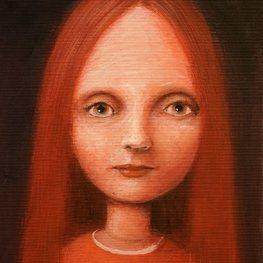 Portret w czerwieniach