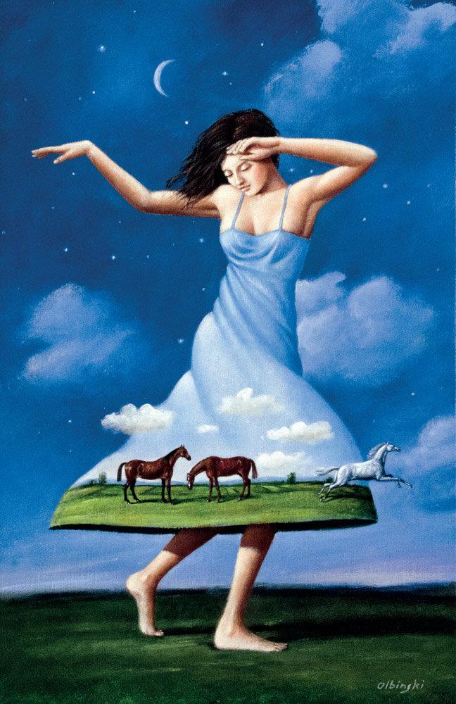 Tańcząca z końmi - inkografia