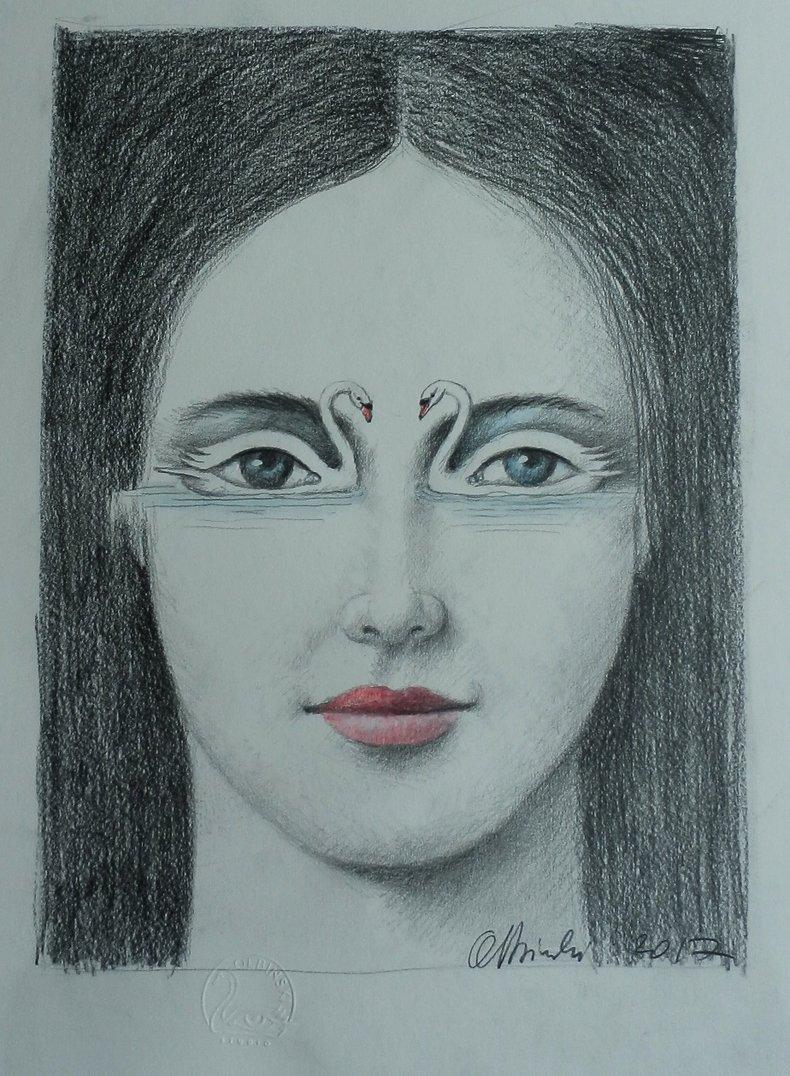 Kobieta - Łabędzie