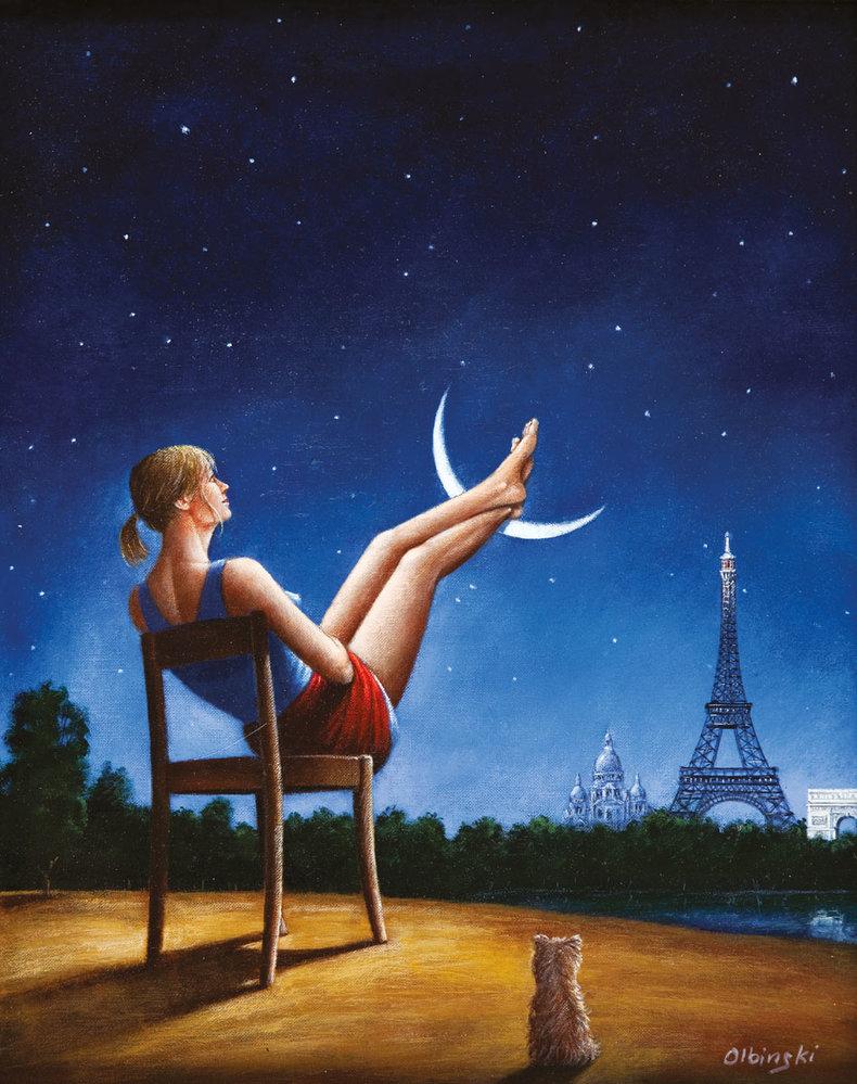 Trzeci wymiar czasu - Paryż - inkografia