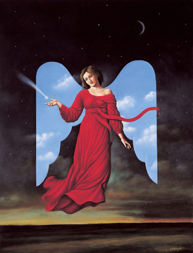 Anioł - Inkografia