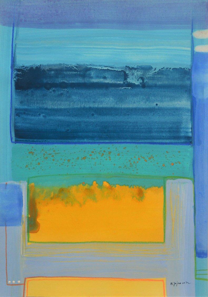 Abstrakcja akwarelowa 1