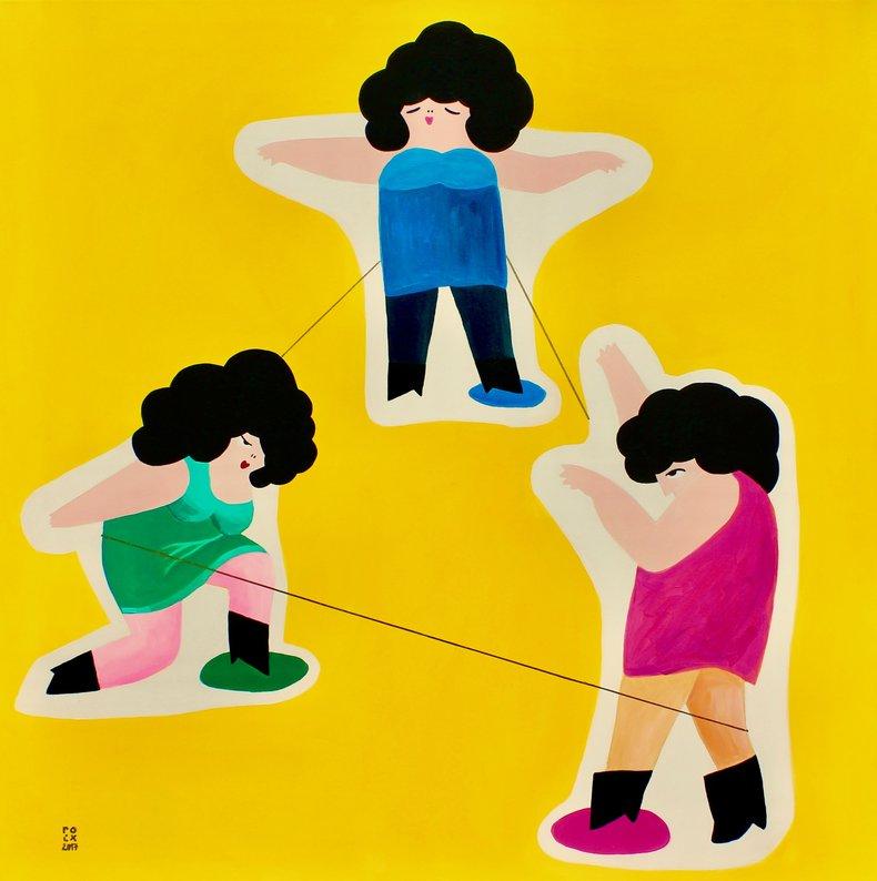 Taniec czyli gra w gumę