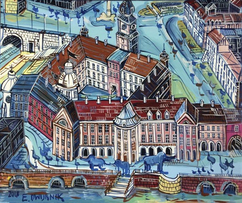 Plac Zamkowy od strony Wisły