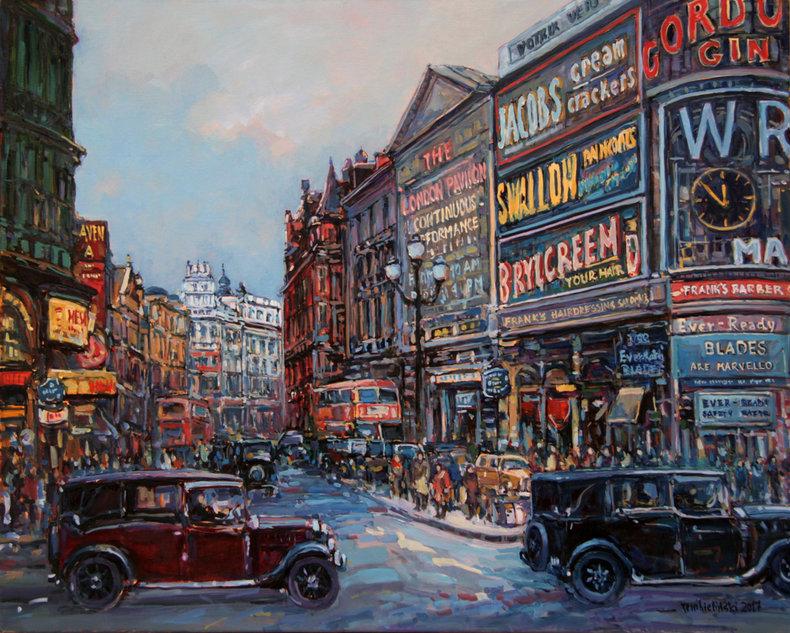 Londyn, Piccadilly Circus