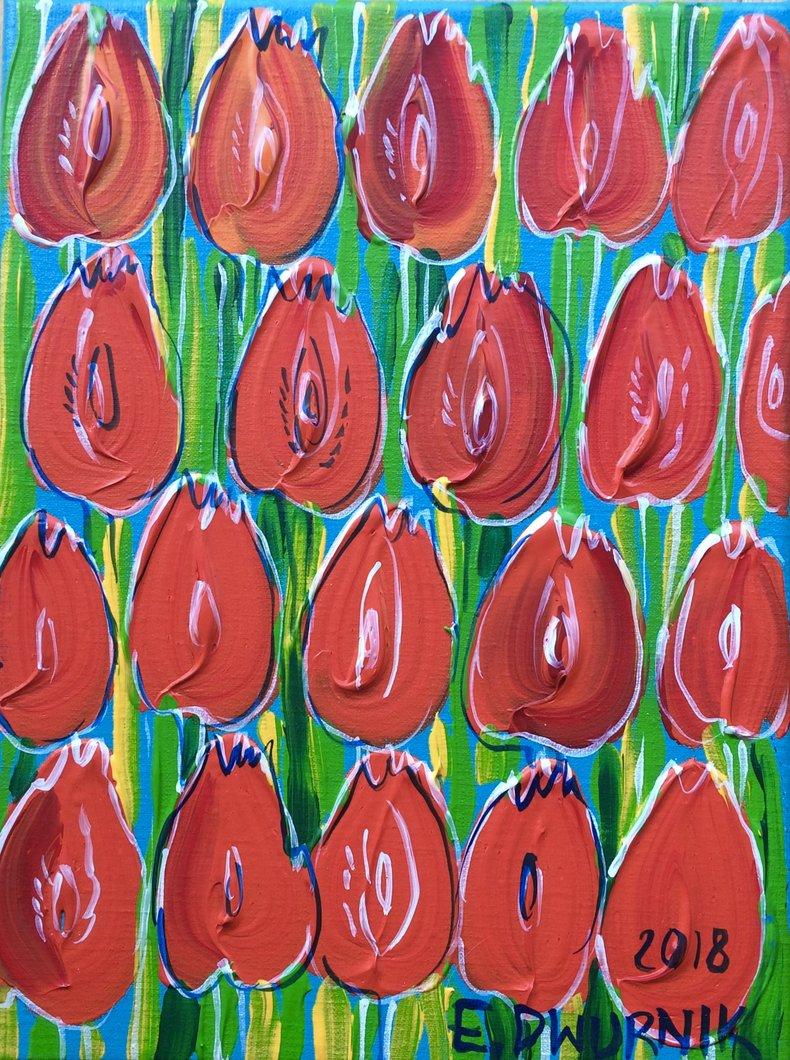 Czerwone tulipany I