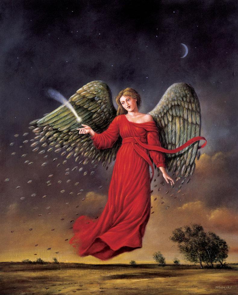 Jesienny anioł - Inkografia