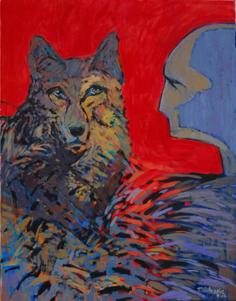 Spotkanie z wilkiem