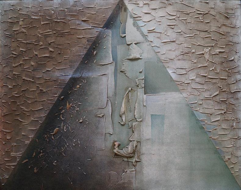 Kompozycja haptyczna A - piramida czasu