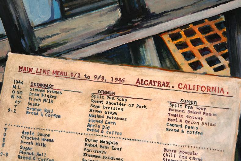 Alcatraz, room service