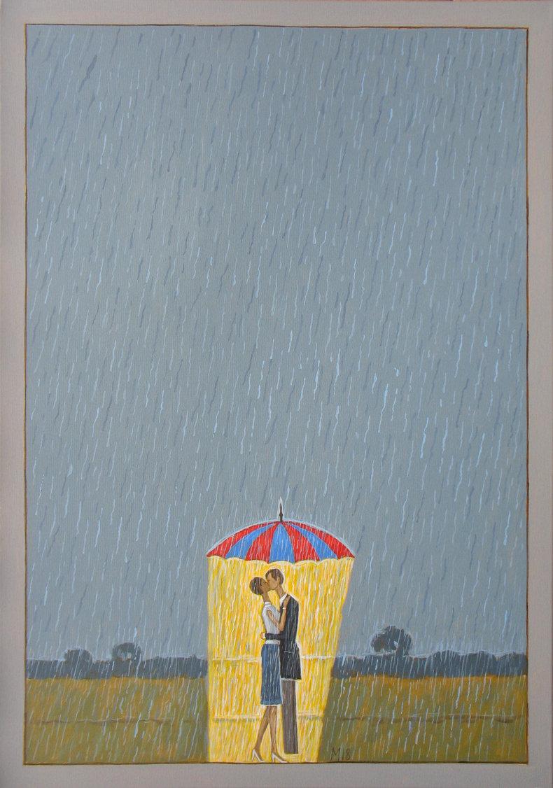 A deszcz pada