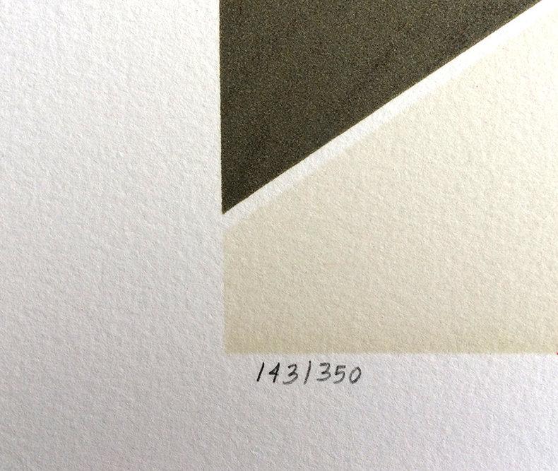 Iluzoryczna specyfika losowych komplementów - litografia