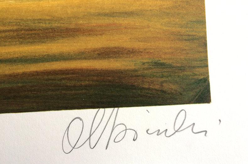 Nokturn e-dur - litografia
