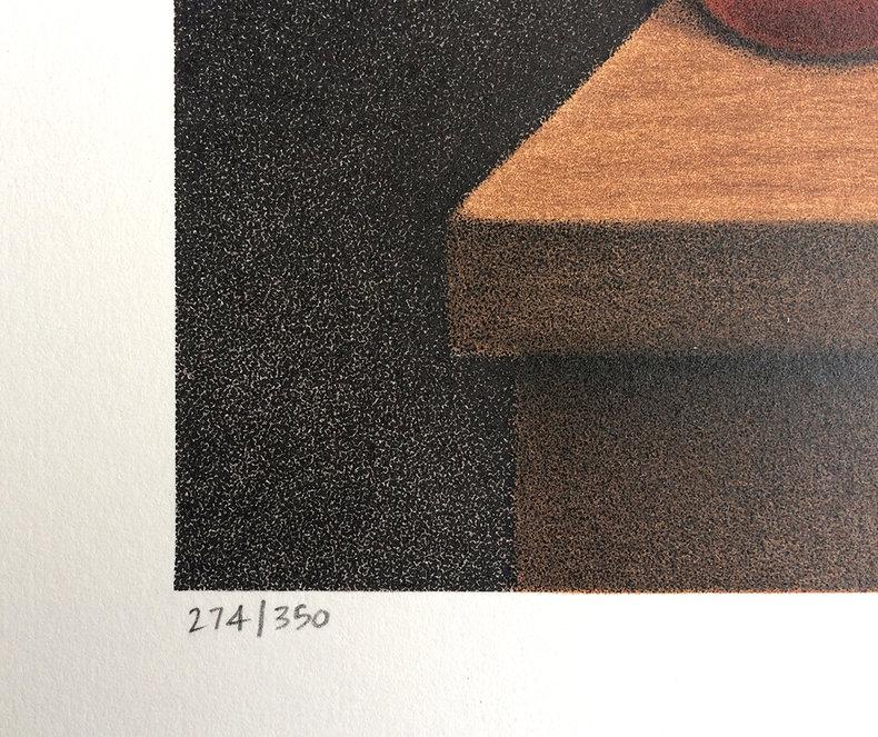 Kalendarz wczorajszych życzeń - litografia