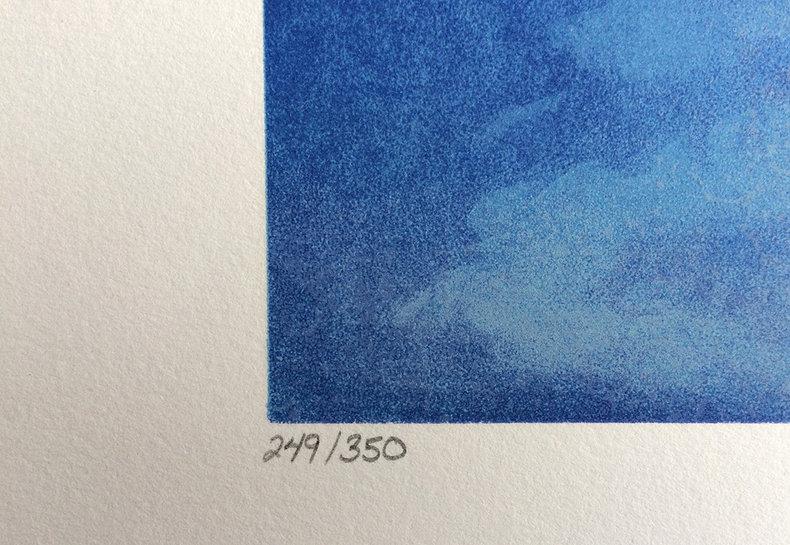 Wyraźna introspekcja - litografia
