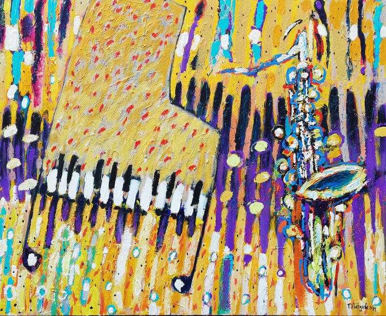 Fortepian i saksofon