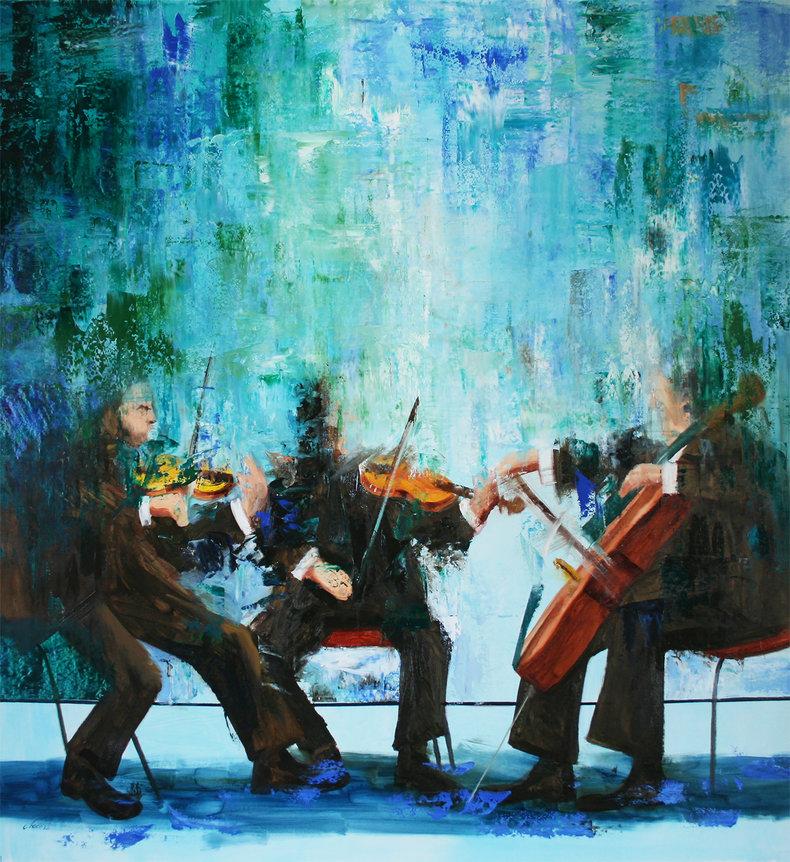 Niebieska polifonia