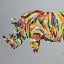 Tęczowy nosorożec
