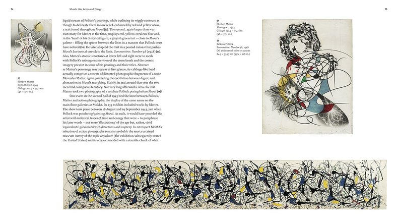 Jackson Pollock's Mural: Energy Made Visible