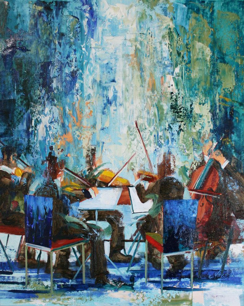 Szkice muzyczne - błękitny kwintet