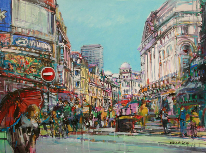 Londyn Piccadilly Circus
