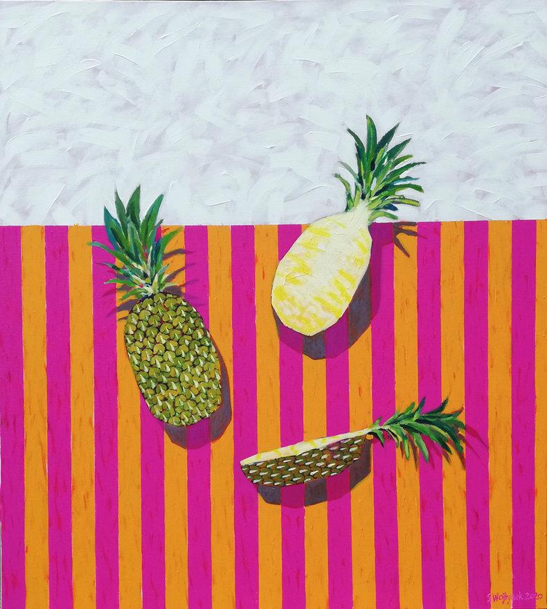 Martwa natura z ananasem 3