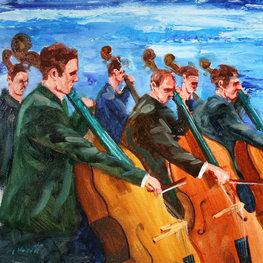 Szkice muzyczne - na tle morza