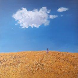 Michalina i chmura