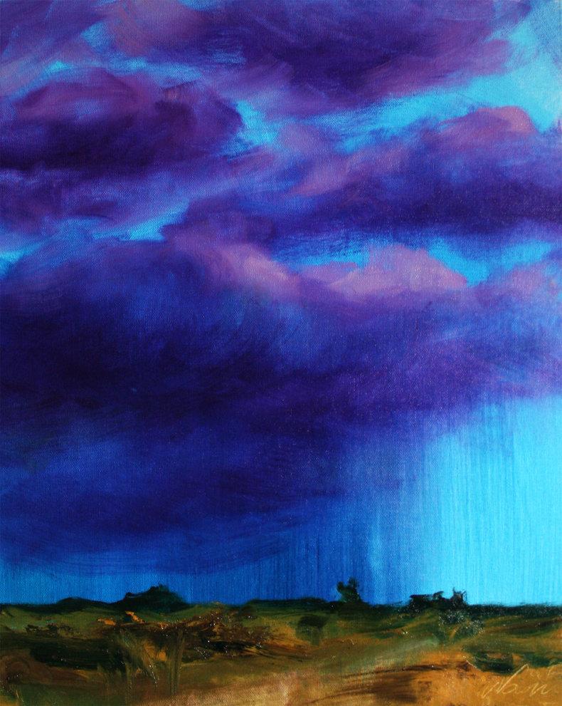 Szkice meteorologiczne - burza