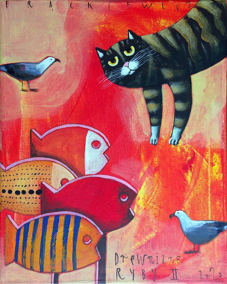 Drewniane ryby II