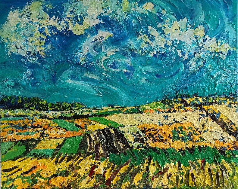 Żółte pola