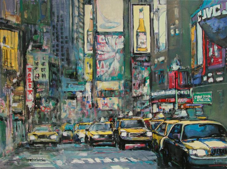 Światła miasta - NYC