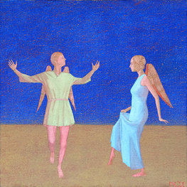 Dwa Anioły tańczące