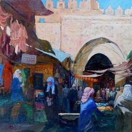 Jerozolima - Brama Damasceńska