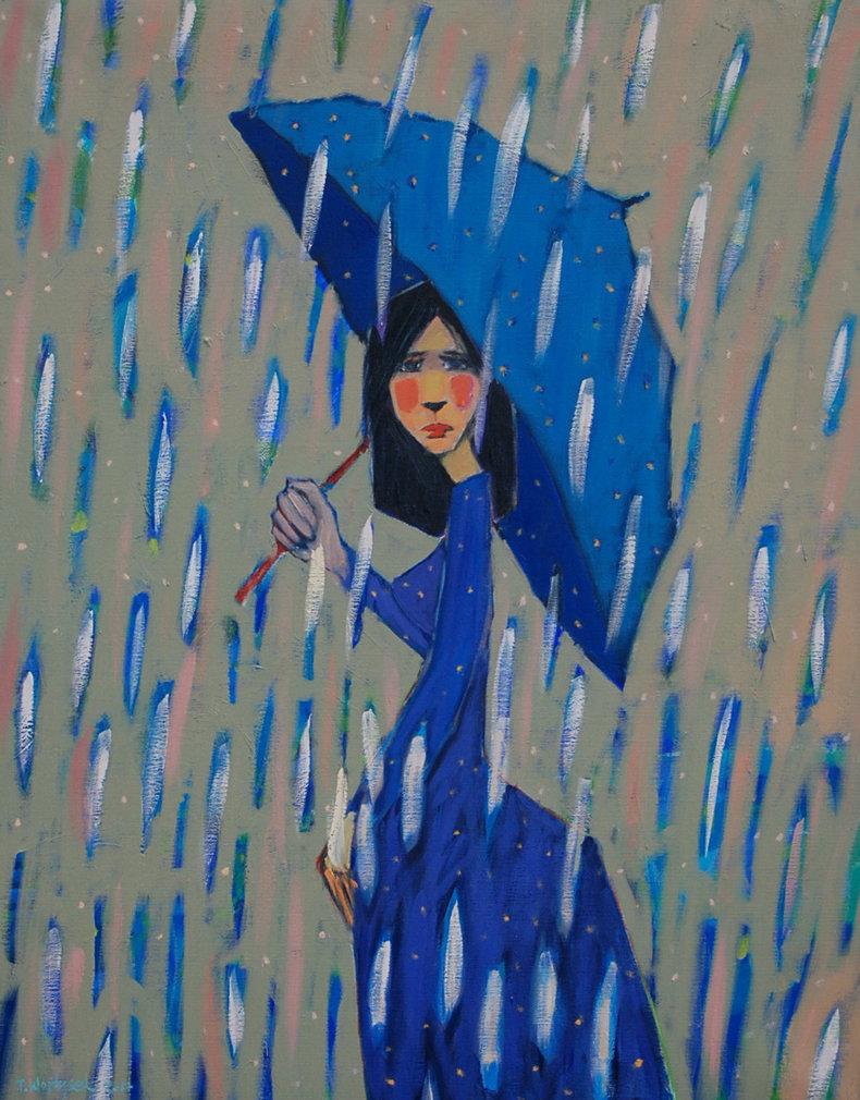 Dziewczyna i deszcz 3