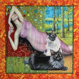 Senność a la Klimt