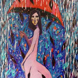 Dziewczyna i deszcz