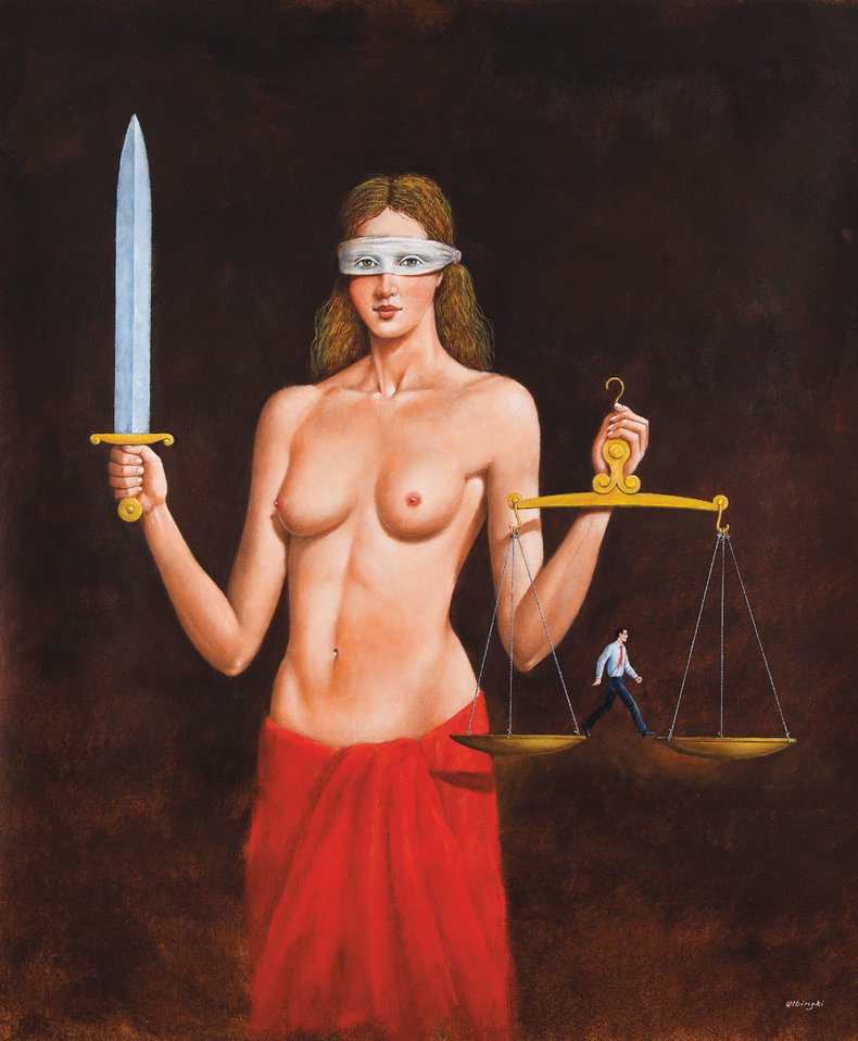 Not-so-Blind Justice - Inkografia