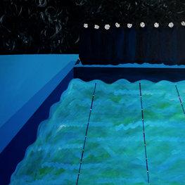 Sufrażystki na basenie