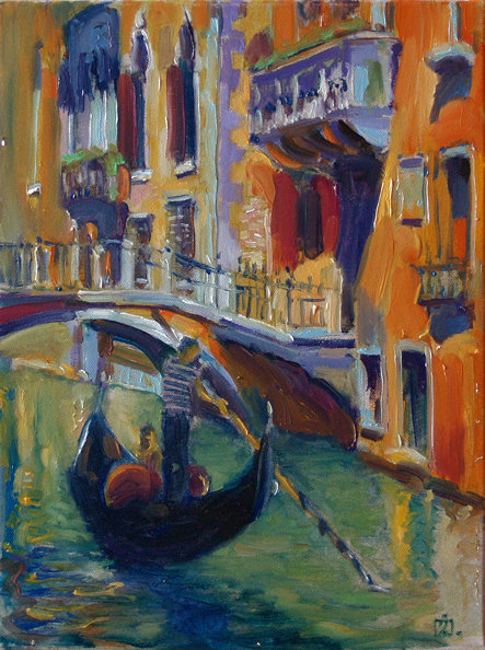 Venetian sketchbook 55
