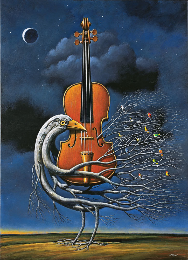 Nokturn na skrzypce - Inkografia
