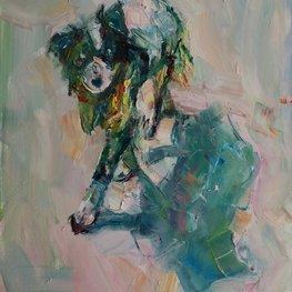 Pies z kulawą nogą