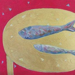 Martwa natura z rybami 2