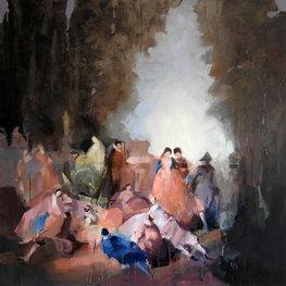 Z cyklu Transmisje (after A. Watteau)